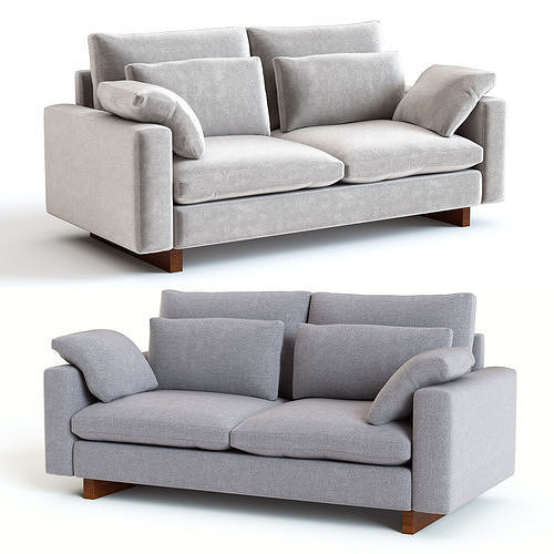Fantastic West Elm Harmony Sofa 3D Model Caraccident5 Cool Chair Designs And Ideas Caraccident5Info