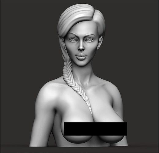 Female bust nude