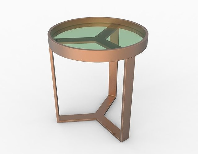 aula side table 3d model obj mtl 3ds 3dm stp bip ksp 1