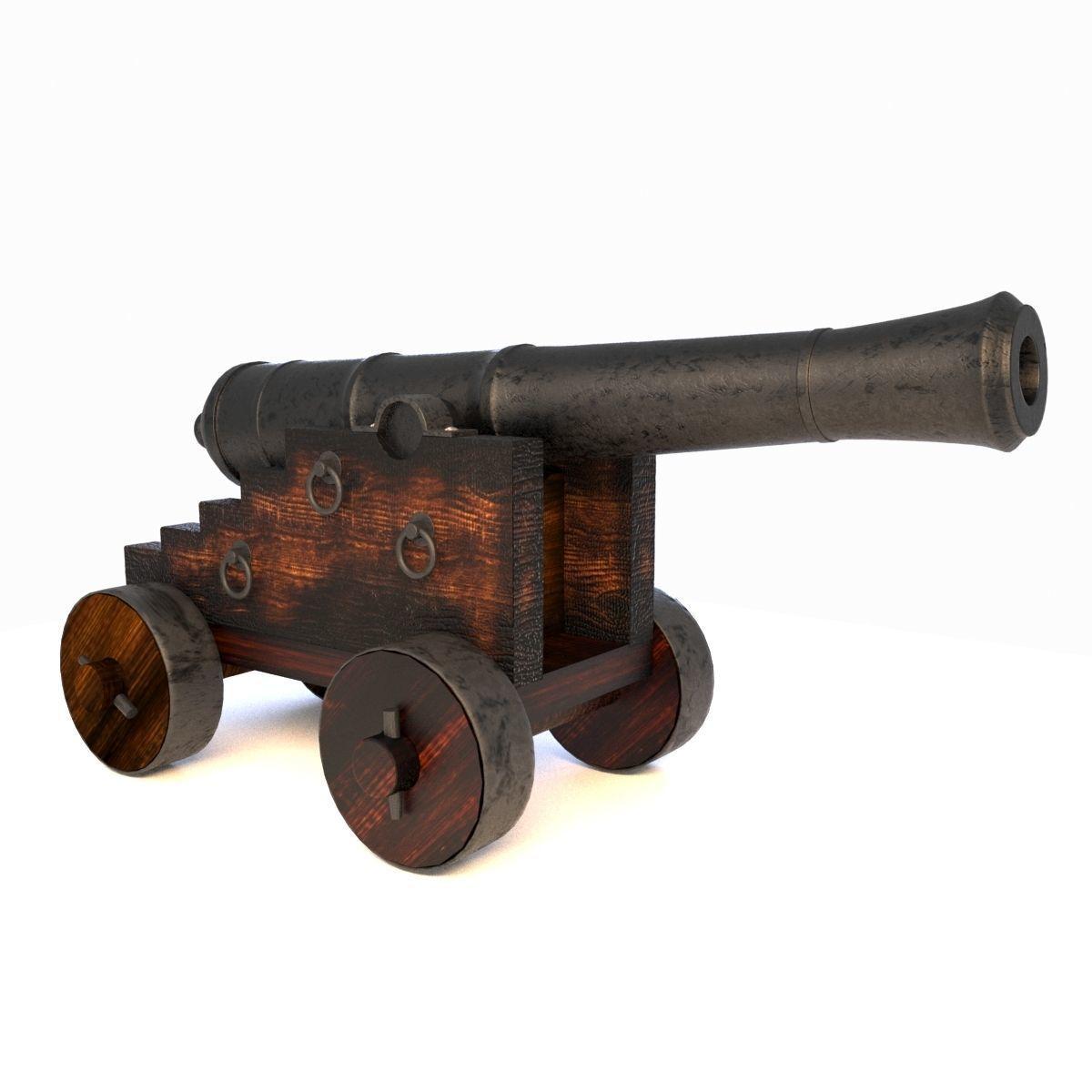 Vessel Cannon Pirate Cannon
