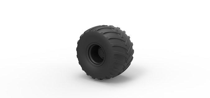 Diecast Wheel from Big Foot