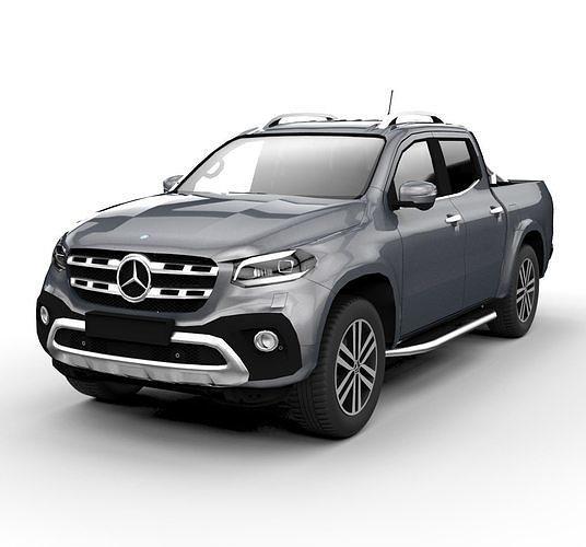 mercedes clase x 2019 3d model obj mtl 1
