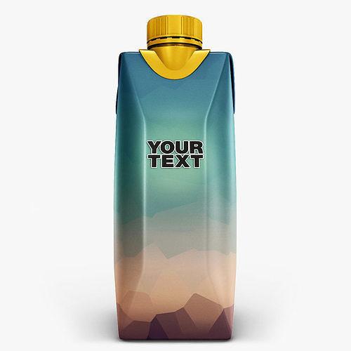 juice box 3d model max obj mtl fbx 1