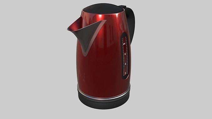 teapot kettle 3d model fbx c4d 1