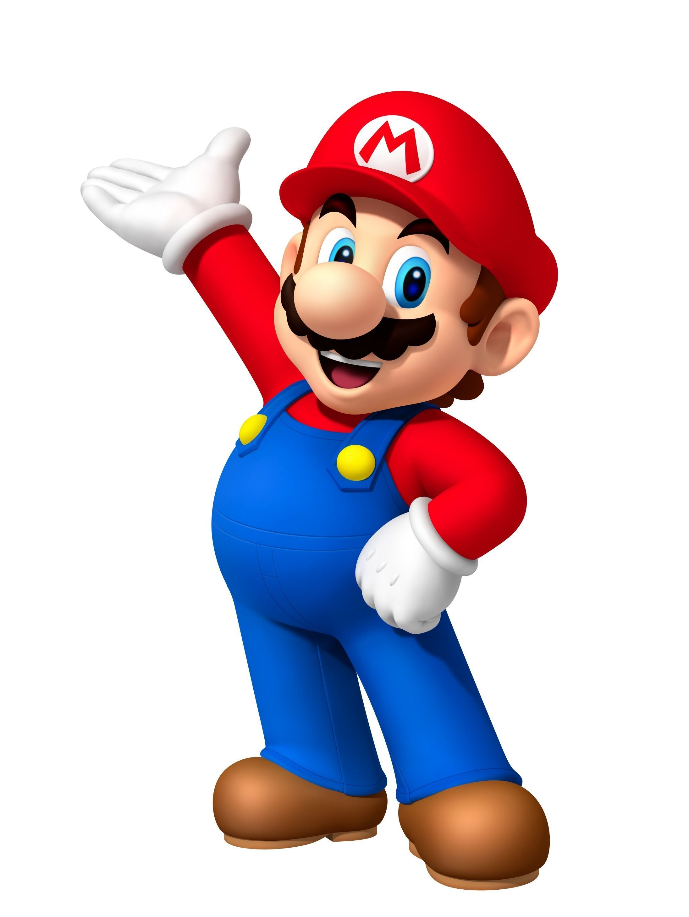 Super Mario Character 3d Print Model Cgtrader