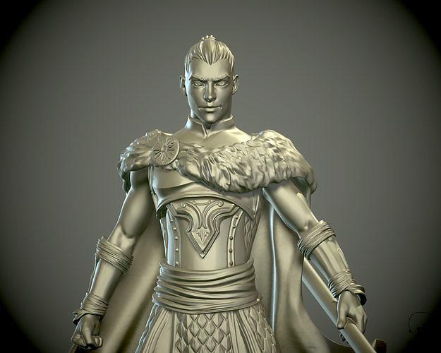 Warrior 3D print model