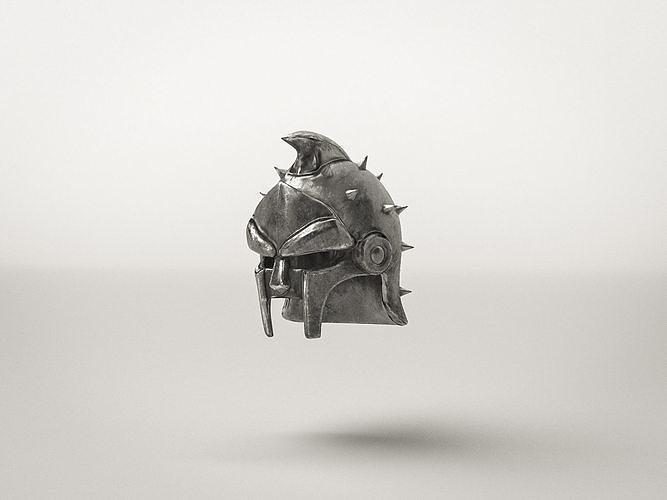 Roman Gladiator Helm Armor