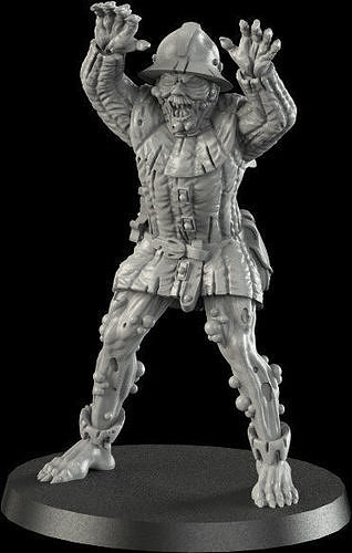 medieval ghoul 3 3d model stl 1