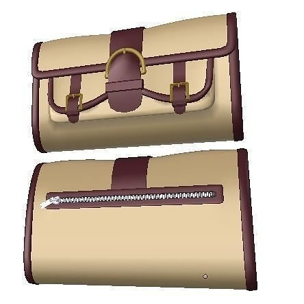 stylish clutch sc-7 3d model obj mtl 3ds fbx dae 1