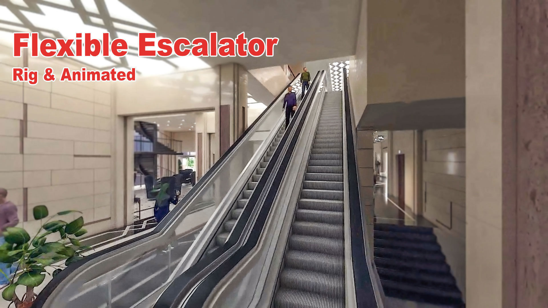 Flexible Escalator