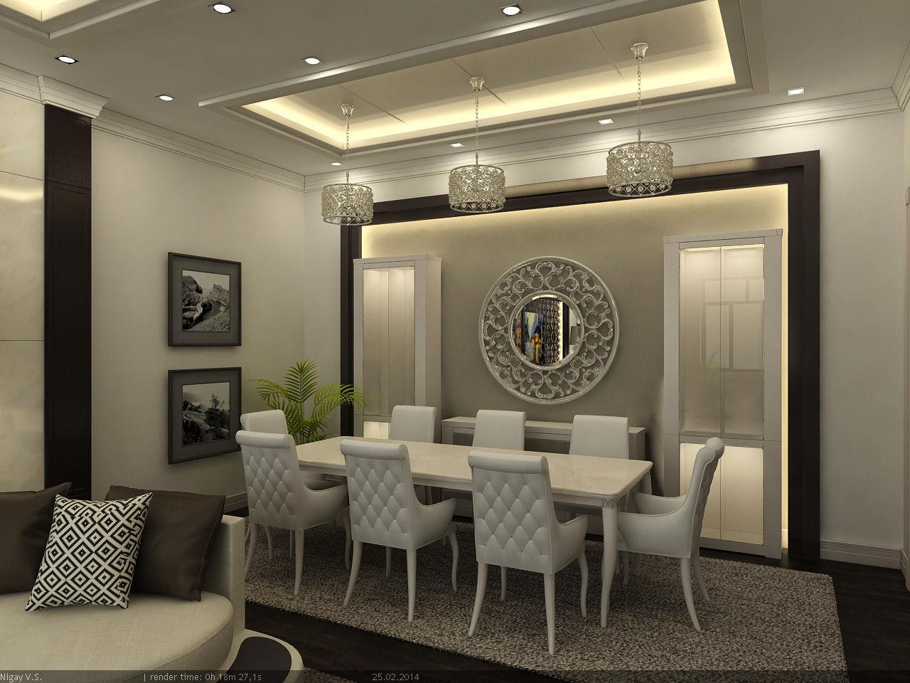 3D model Interior Scene - Flat 03 - living room | CGTrader