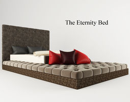 The Eternity Bed 3D asset
