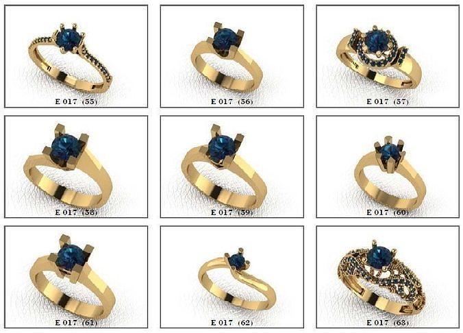 Solatire Rings