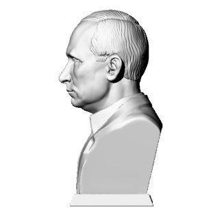 Putin V 3D print model