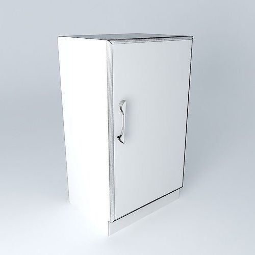 coca cola cabinet houses the world 3d model max obj 3ds. Black Bedroom Furniture Sets. Home Design Ideas