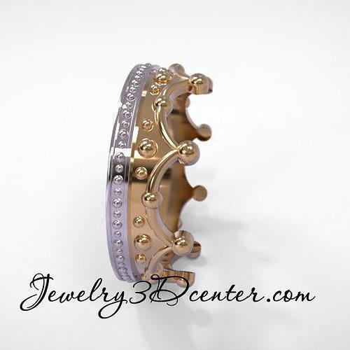 Wedding ring crown obr 207