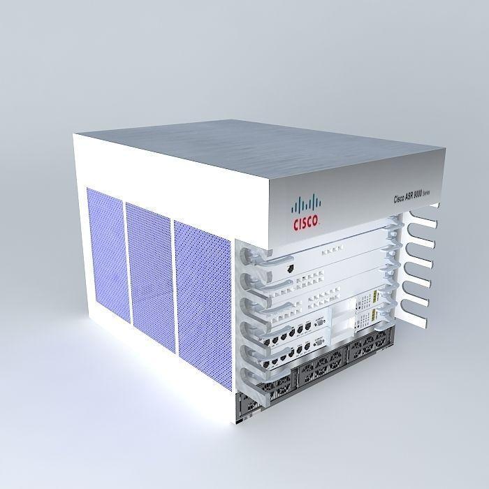 Cisco ASR 9006 Router | 3D model