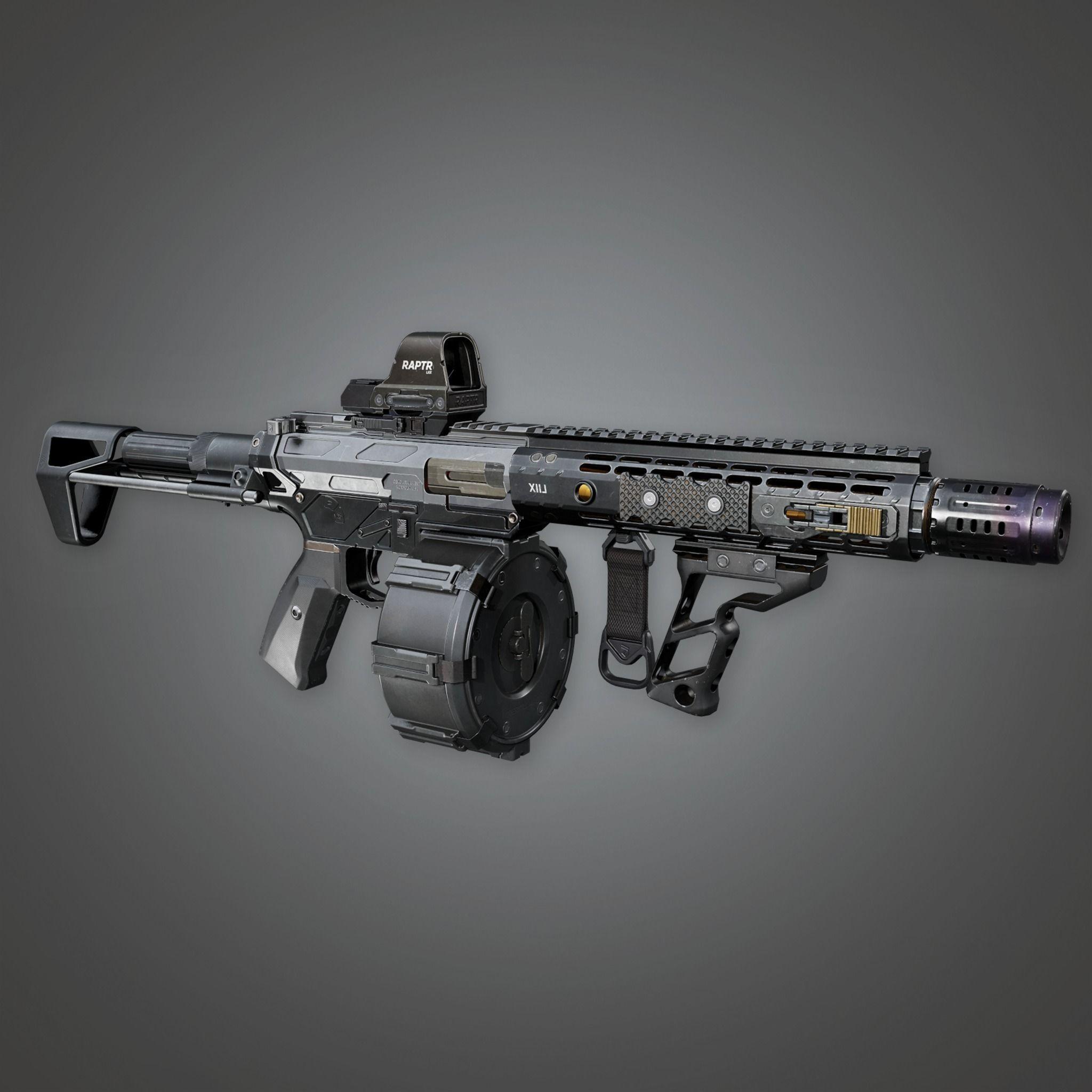 MSG - FPS Modern Shotguns - Raptr - PBR Game Ready