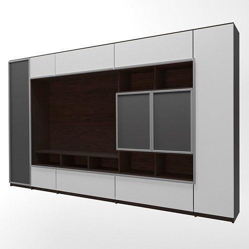 cupboard 3d model max fbx 1