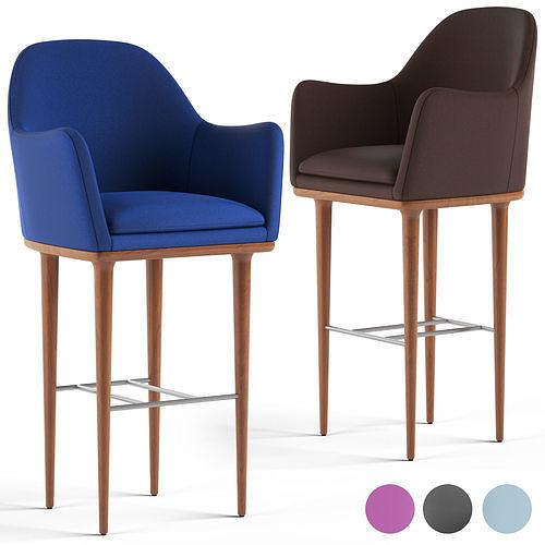 loftdesigne stool 3517 3d model max obj mtl fbx 1