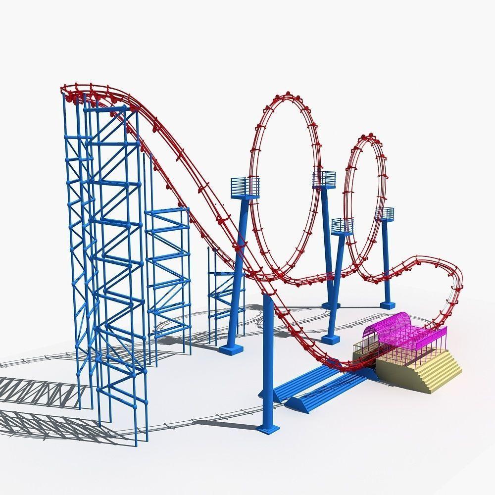 Roller Coaster 3 | 3D model