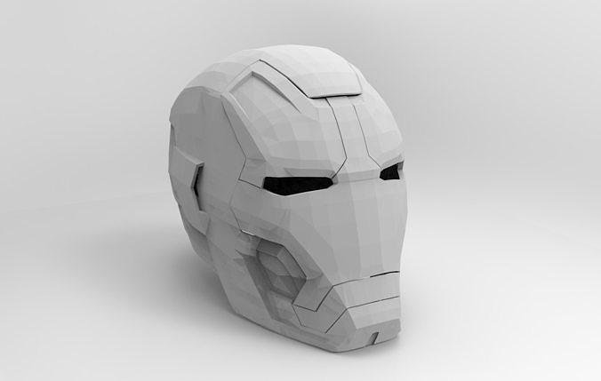 Iron man helmet | 3D Print Model