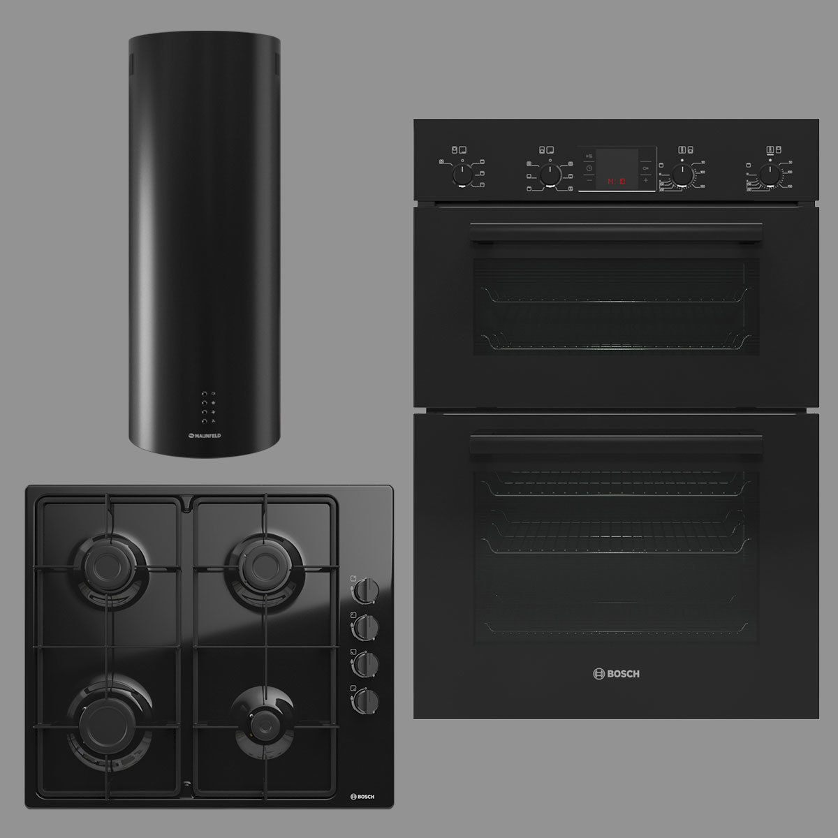 BOSCH and MAUNFELD home appliances collection