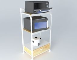Kitchen Appliance Stand 3D model