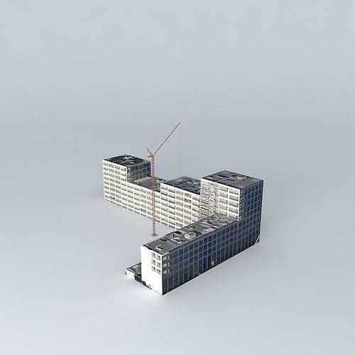 under construction 3d model max obj mtl 3ds fbx stl dae 1