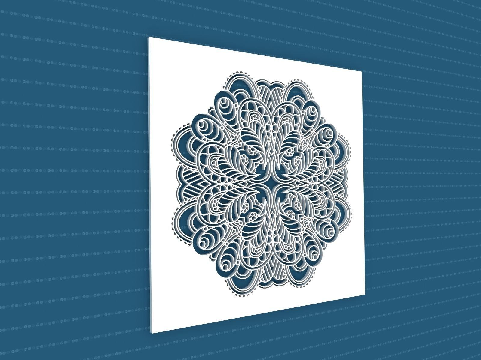 Mandala | 3D model