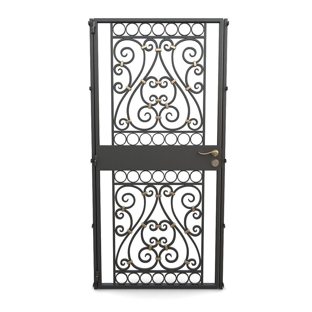 Wrought iron gate 02
