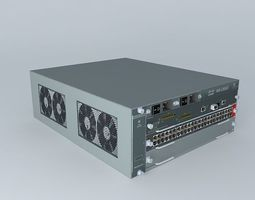 Cisco Catalyst 6503e Layer 3 Switch 3D model