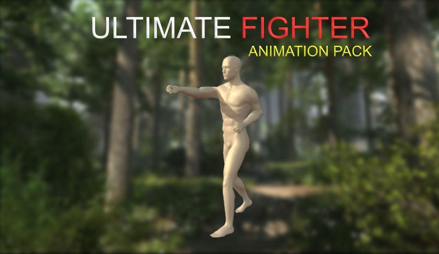 Ultimate Fighter Animation Starter Pack | 3D model