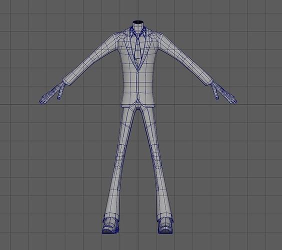 male character 3d model ma mb 1