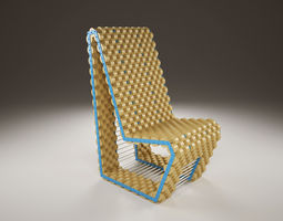Cork Chair 3D