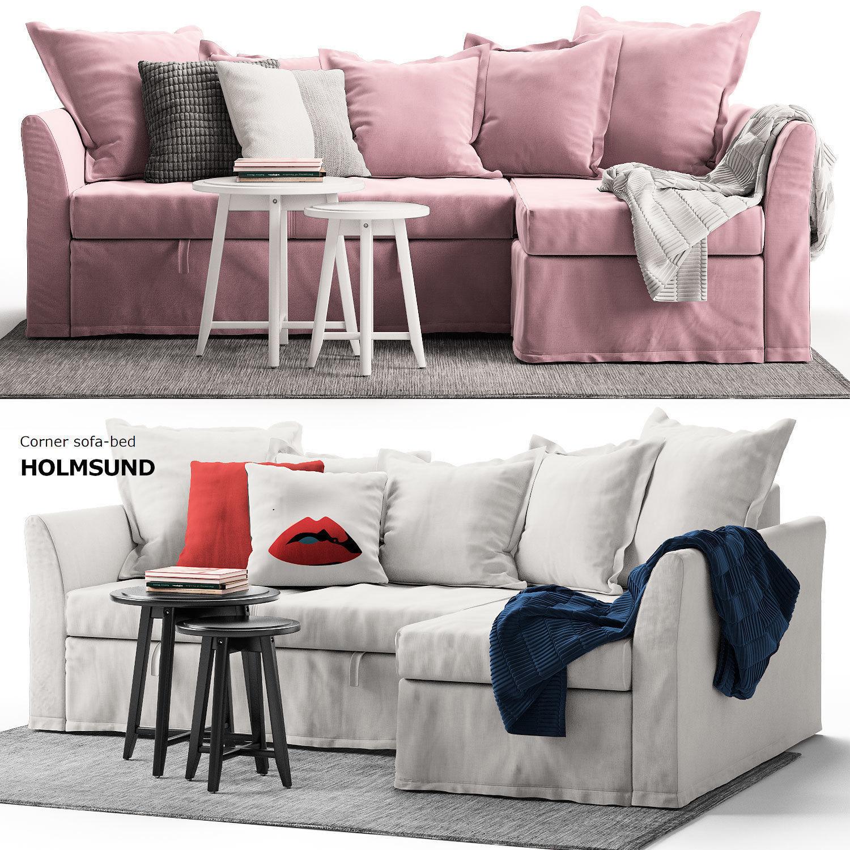 Corner Sofa Holmsund IKEA | 3D model