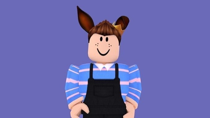 Alessio Roblox Character 3d Model Cgtrader