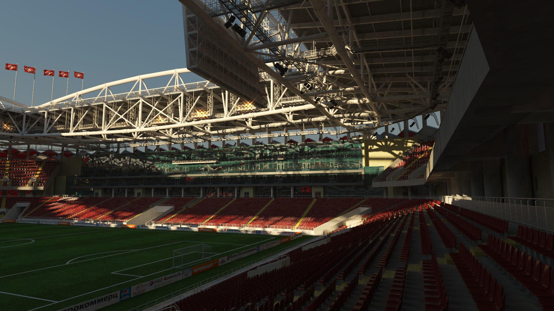 Football Soccer Stadium Spartak Moscow - Otkrytiye Arena