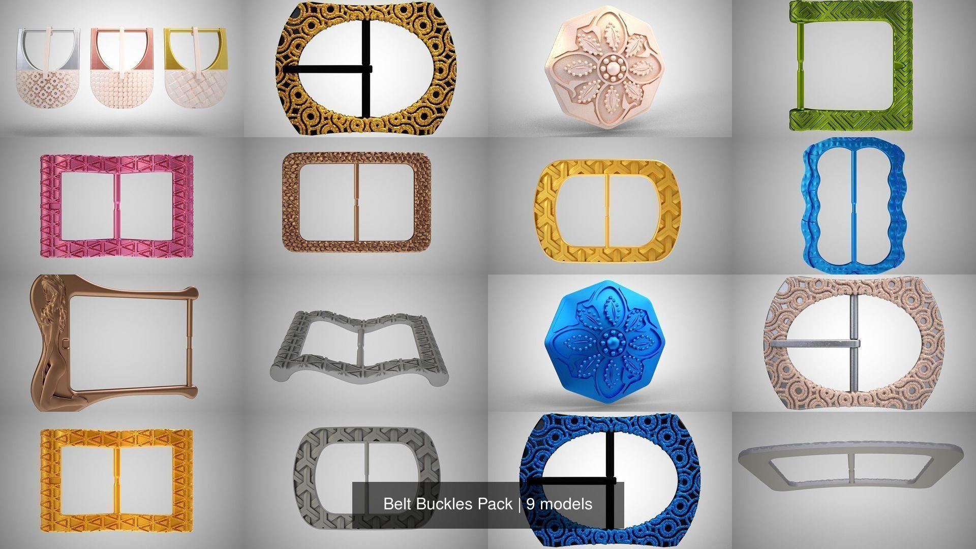 Belt Buckles Pack