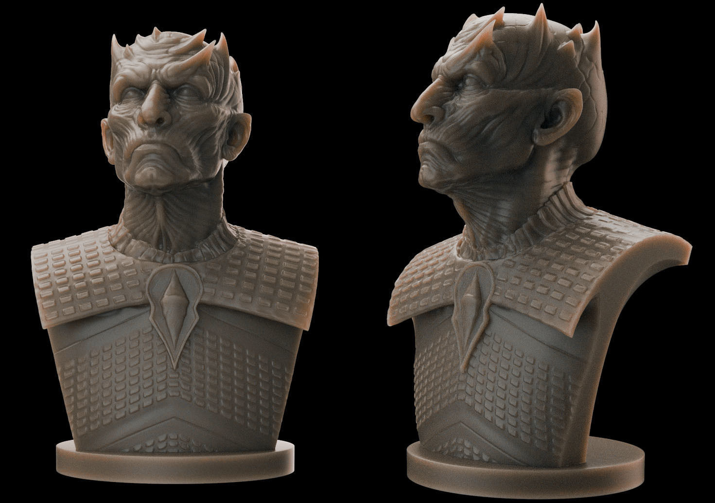 Night King Bust v2- Game of Thrones