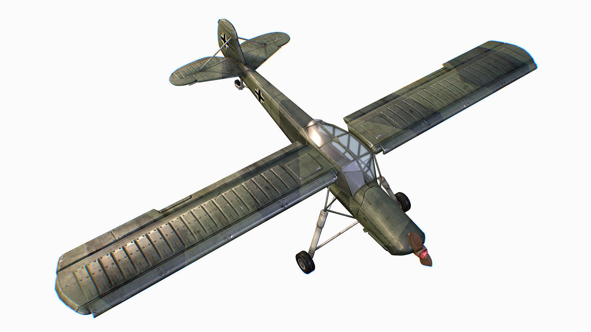 German liaison aircraft Fieseler Fi 156 Storch