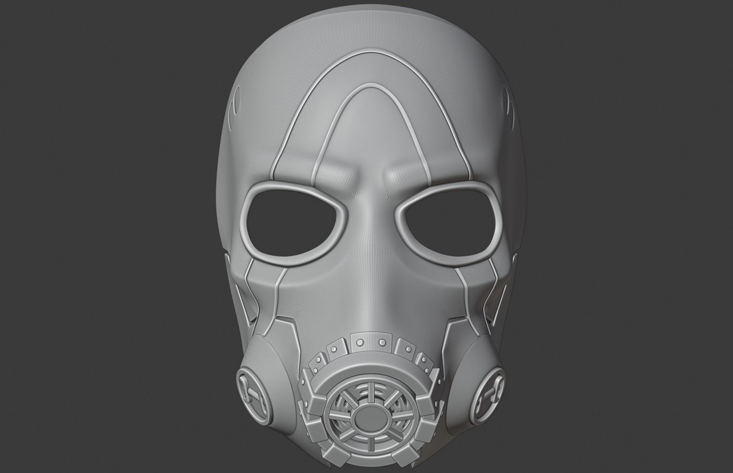 Borderlands 3 Psycho Mask