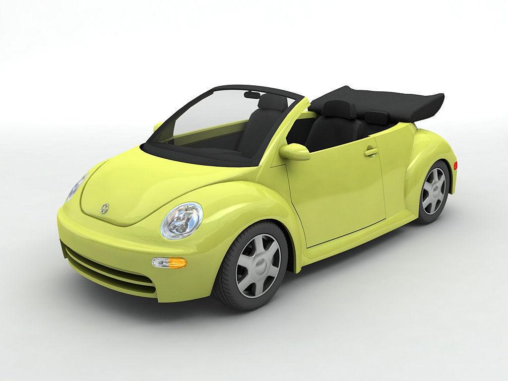 2003 Volkswagen Bug Beetle Convertible