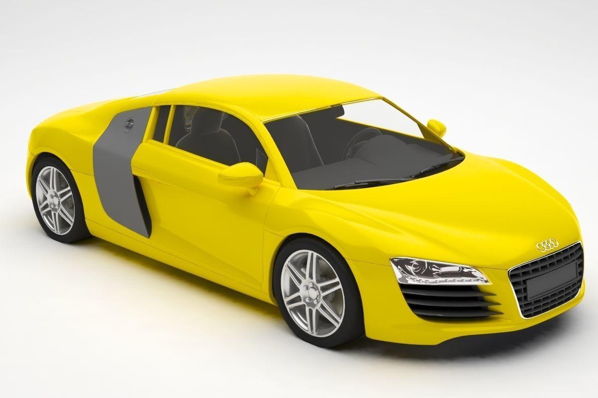 Audi car   13D model   audi car model