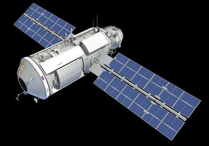 Zarya Functional Cargo Block FGB ISS Module