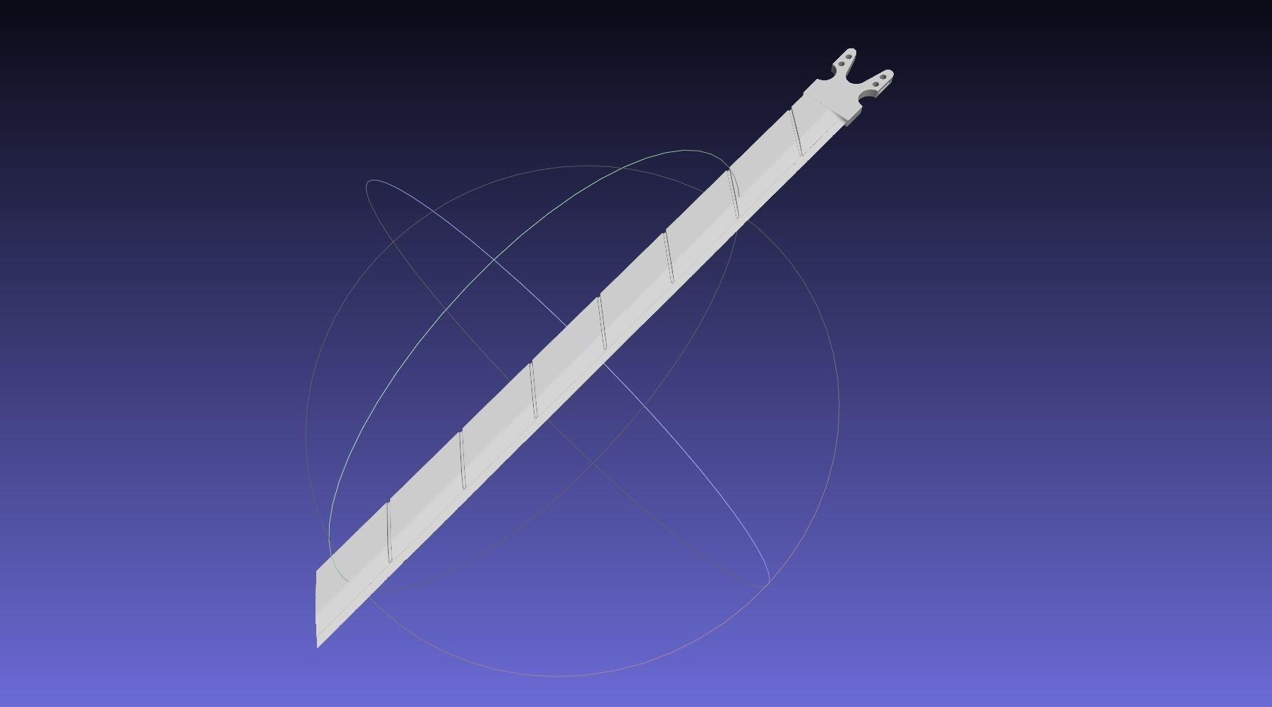 Attack On Titan Sword Functional Assembly