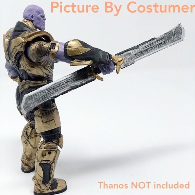 Thanos Sword EndGame Cosplay prop 3D model