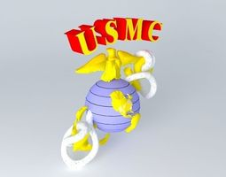 3D USMC EAGLE GLOBE AND ANCHOR