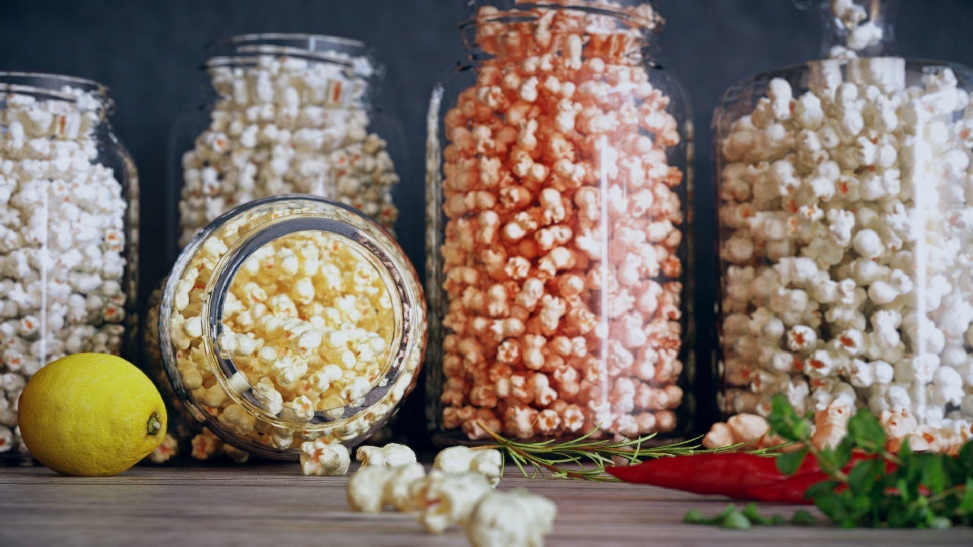 Popcorn Jars