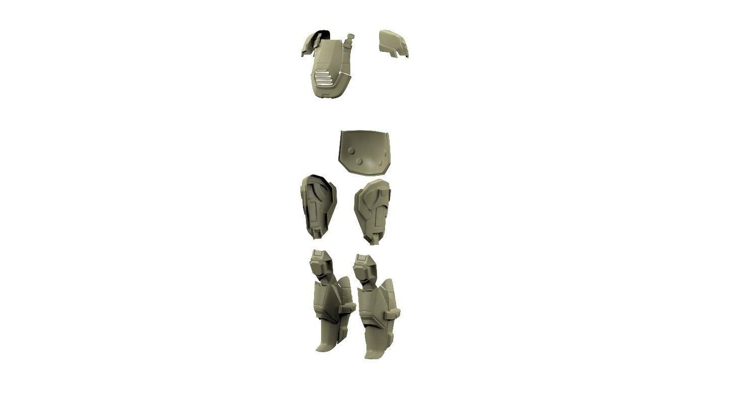 Halo 4 armor | 3D Print Model